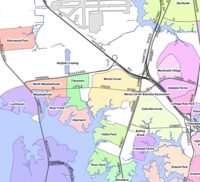 Wards Corner Now area Civic Leagues