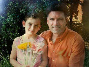 Todd Cox with his daughter Emily Cox