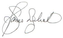 Jim English Signature