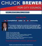 Chuck Brewer's website, justcallchuck.com