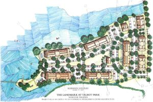 The Landmark at Talbot Park - Site Plan