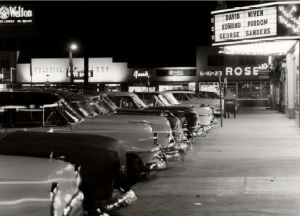 Wards Corner - Midtown Shopping Center, circa 1953