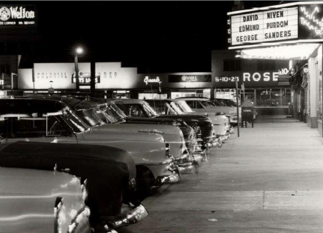 Wards Corner - Midtown Shopping Center, circa 1953