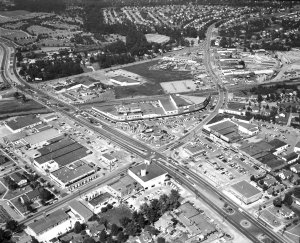 Wards Corner Aerial 1956