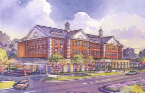 Proposed Cancer Institute at DePaul Medical Center, Norfolk, VA