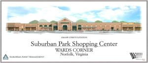 Exhibit B - Suburban Park Shopping Center, Granby Street Elevation