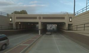 The Tidewater Drive underpass is expected to be repainted similar to the Monticello Ave underpass pictured here