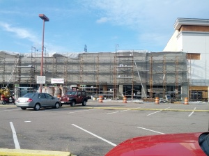 Midtown Shopping Center, new facade progress pictures, July 11, 2012, Norfolk, Virginia, 2 of 4