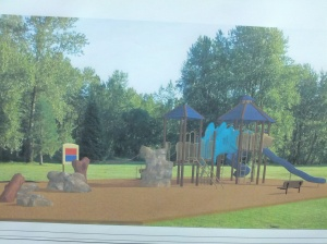 New playground at the Fitness and Wellness Center, picture 2 of 4