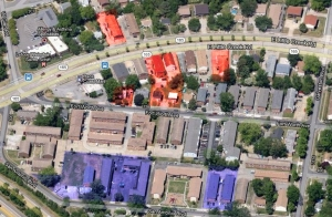 Denby Park properties to be purchased by City of Norfolk.  RED highlighted properties are to be purchased in 2013.  BLUE highlighted properties were purchased in 2011.