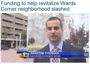 WVEC Funding to help revitalize Wards Corner neighborhood slashed