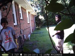 Have you seen these suspects? These suspects are believed to have been involved in a burglary in Talbot Park on Whiting Street.  Call the NPD Burglary Unit at (757) 664-7011 or the Crime Line at 1-888-LOCK-U-UP.