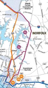 Potential Light Rail Extension Routes