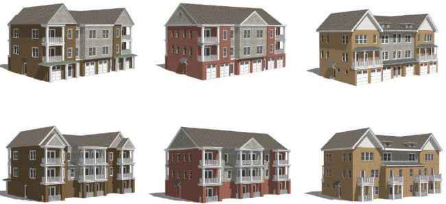 Proposed townhouse design ideas