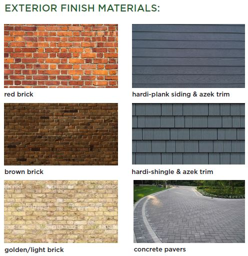 Exterior Finishes Home Design