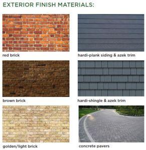 Exterior Finish Materials