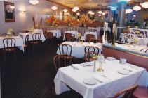 Uncle Louie's dining room set for dinner service