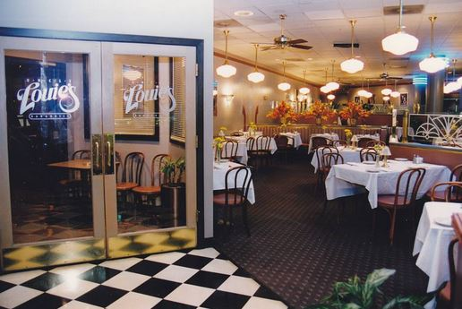 Entrance to Uncle Louie's Bar and Grill from the Dining Room
