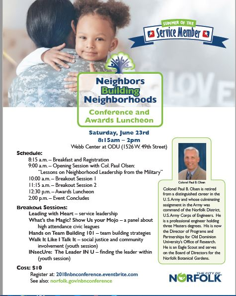 Neighbors Building Neighborhoods Conference
