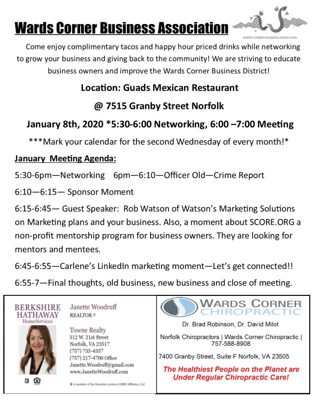 WCBA Jan 2020 Newsletter